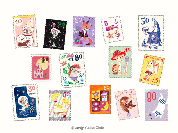 my favorite stamps