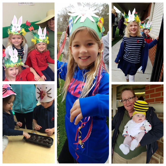 Spring Hat Parade Students