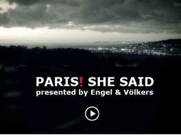 Paris, she said!