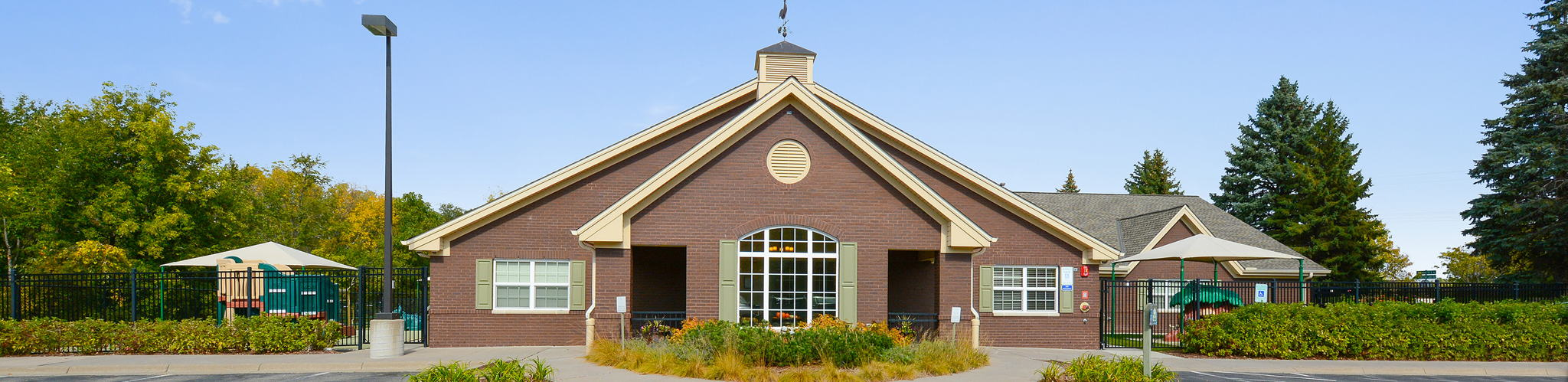 Exterior of a Primrose School of Maple Grove