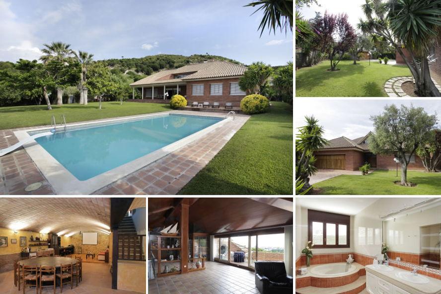 Casas con piscina y vistas en badalona for Casa de lujo minimalista y espectacular con piscina por a cero