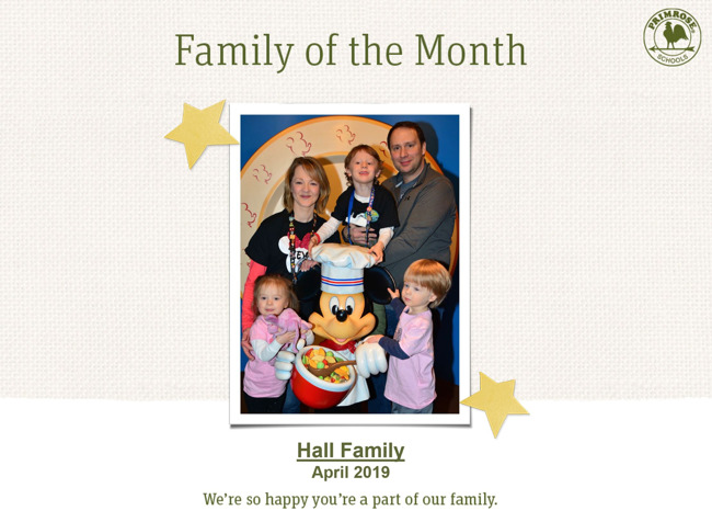cute family at Disney World