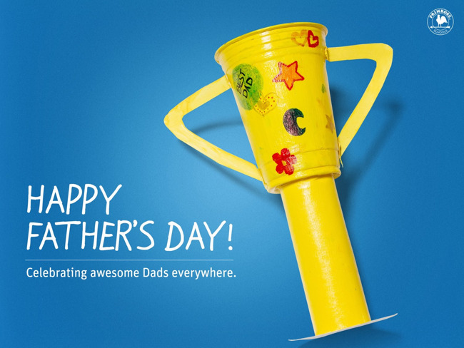 Happy, fathers