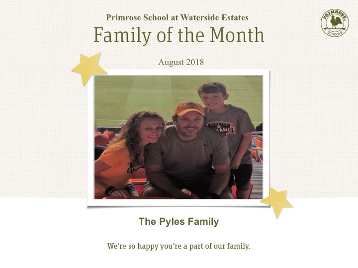 pyles family of the month
