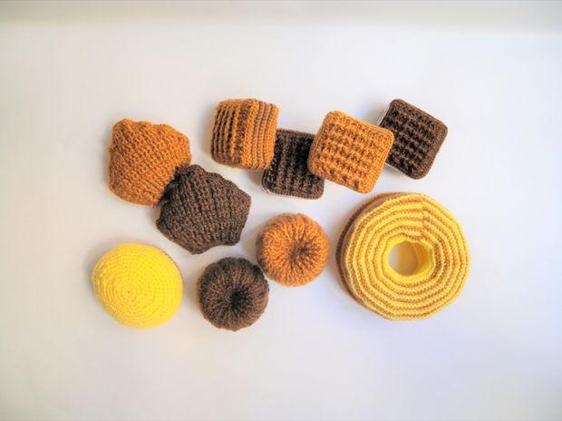 毛糸の焼き菓子