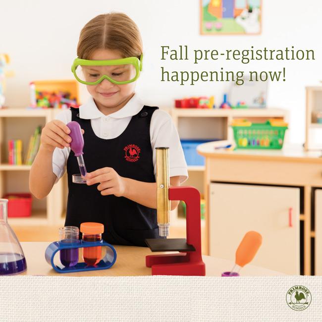 Fall 2019 Pre-Registration happening now for Preschool and Pre-Kindergarten