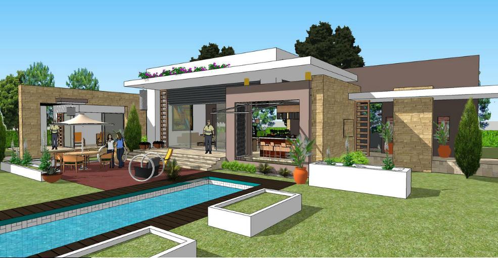 Dise o y construcci n residencial y comercial mym for Disenos de fincas campestres