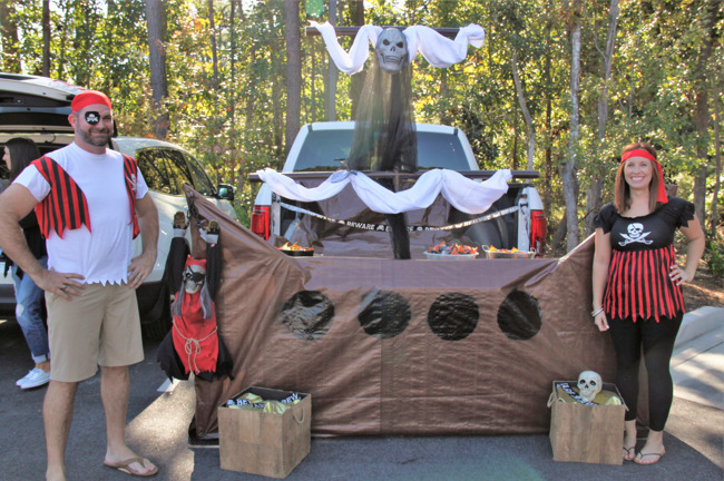 trunk or treat picture