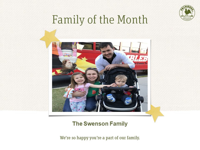 The Swenson Family