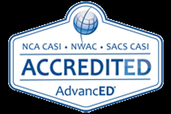 AdvancED accreditation logo