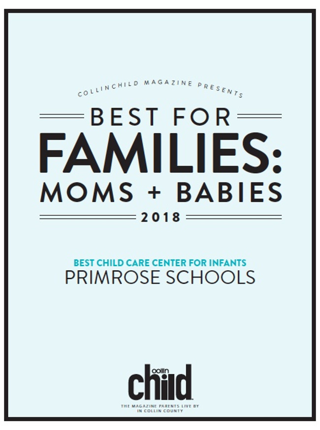 Collin Child Magazine Best for Families - Moms & Babies Award for 2018