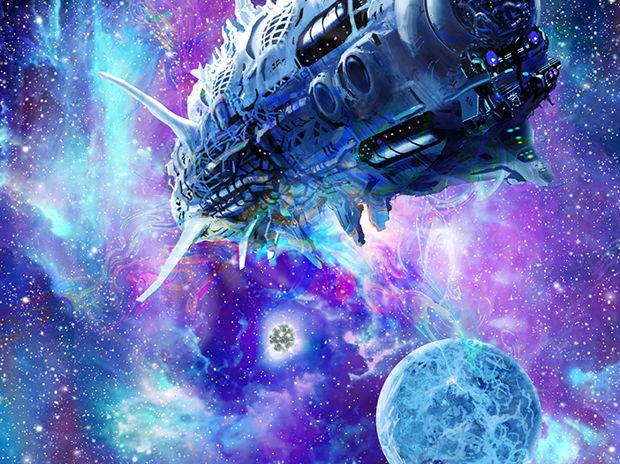 反物質光速船