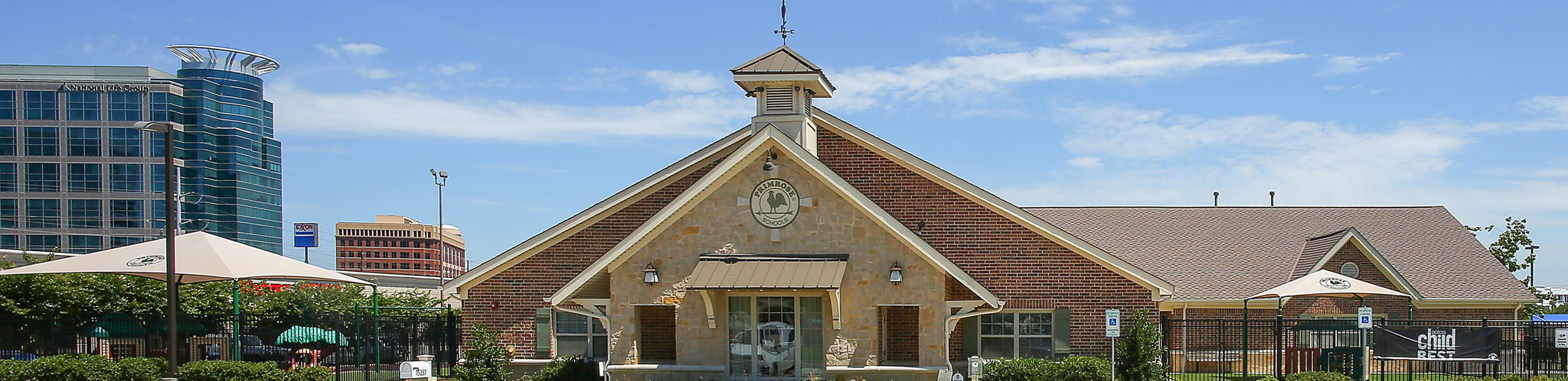 Exterior of a Primrose School of Prestonwood