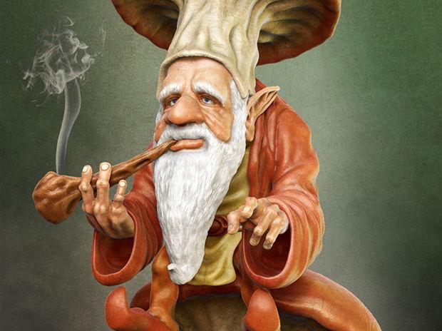 The Smoking Gnome