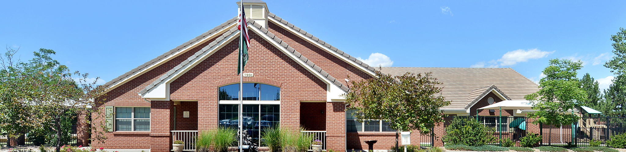 Exterior of a Primrose School of Littleton