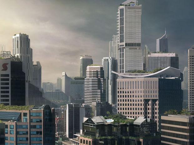Monolithic City