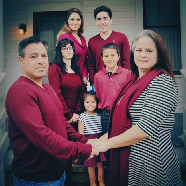 The Romero family, family of the month for November