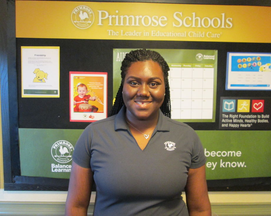 Keonia Pickett, Young Toddler teacher
