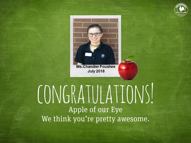 July Apple of Our Eye