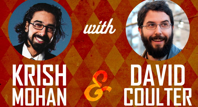 Southern Insecurities Comedy Tour with Krish Mohan & David Coulter, Hosted by Winston Hodges