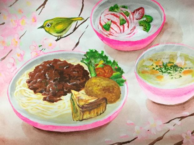 スパゲティミートソース(子ども食堂)