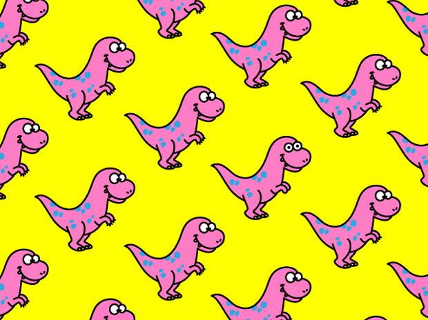 ティラノサウルス柄