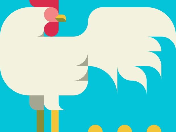 鶏 ヒヨコ Nemury's Cock and Chick, Chick, Chick