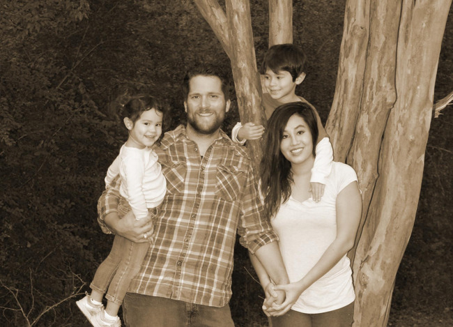 The Whitmeyer family, family of the month for January