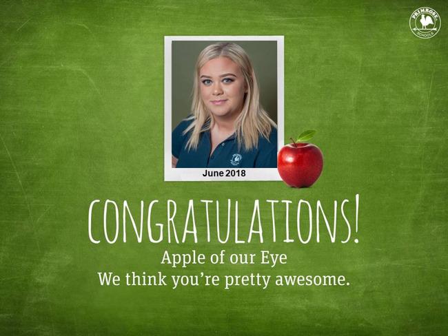brooke lewie june apple of our eye
