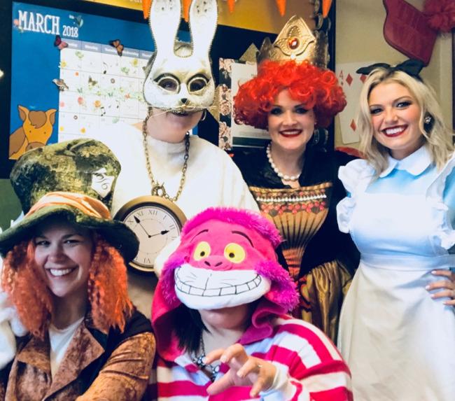 Bringing Alice in Wonderland to Life