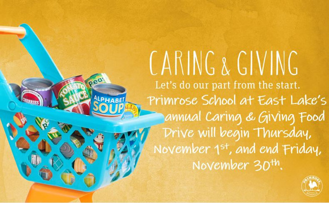 Caring & Giving Food Drive