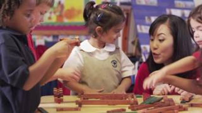 Building Early Math and Engineering Skills at Primrose Schools