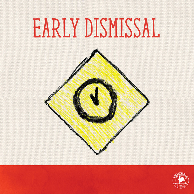 Dismissing at 12 on Thursday, September 13th