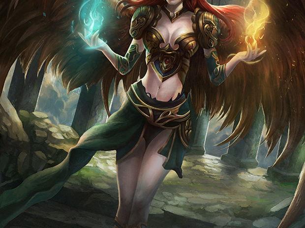Magical warrior