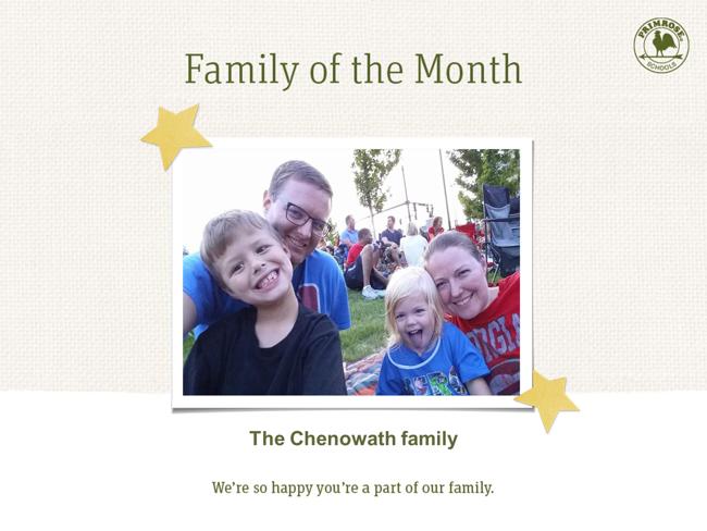 The Chenowath family