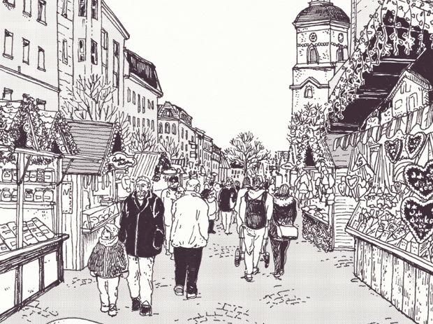 ドイツ・ベルリンのクリスマスマーケット①