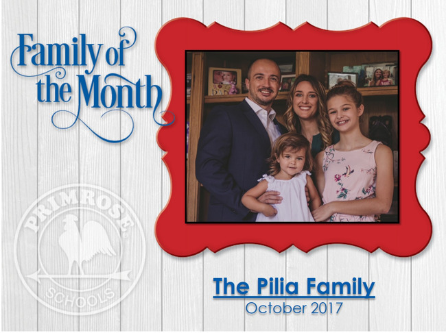 Family of the Month - October 2017