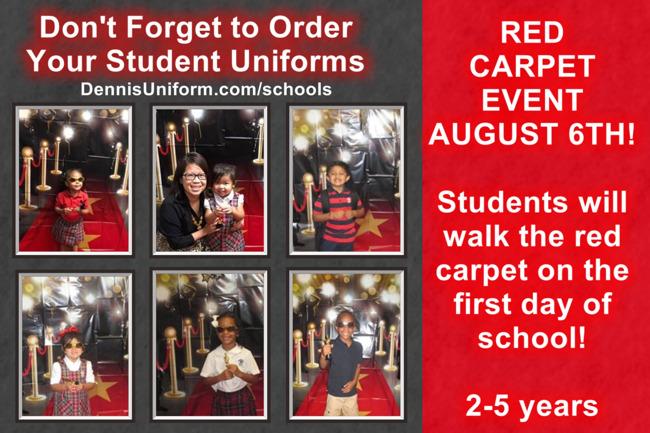 Red Carpet Event!