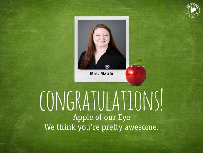 Apple of our eye template