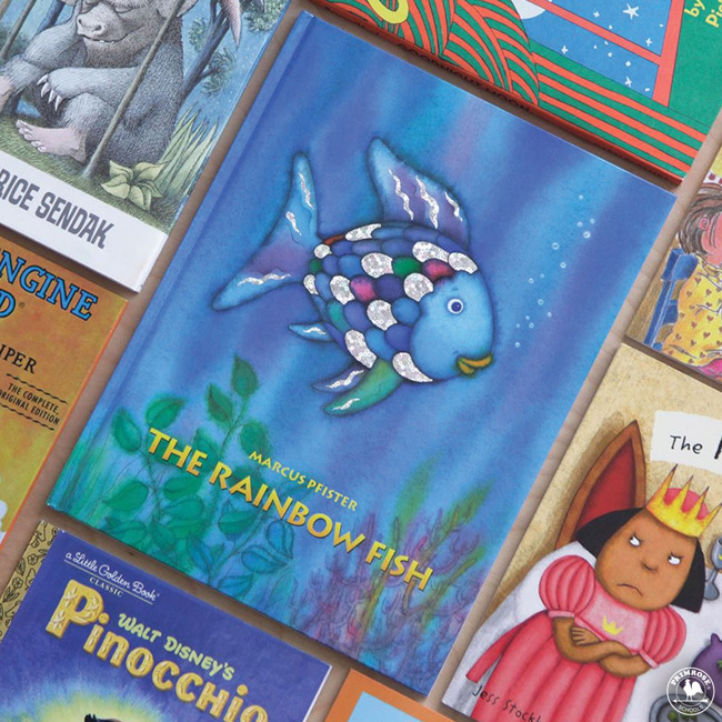 "Cover of the book, ""The Rainbow Fish"""