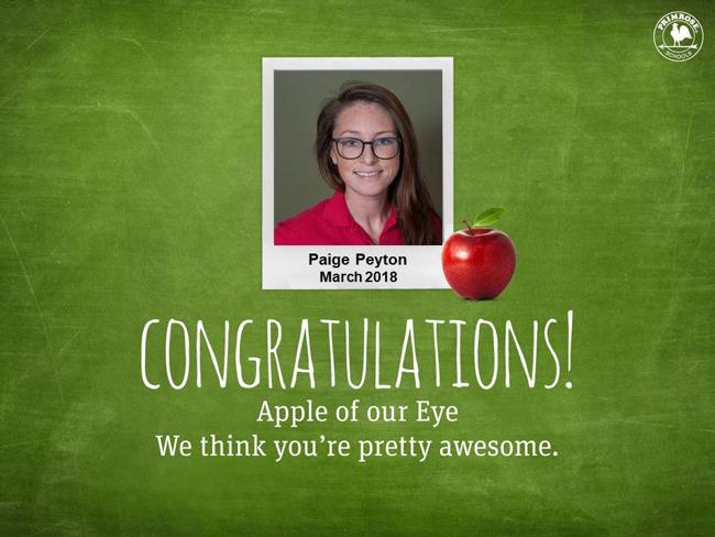 paige peyton apple of our eye