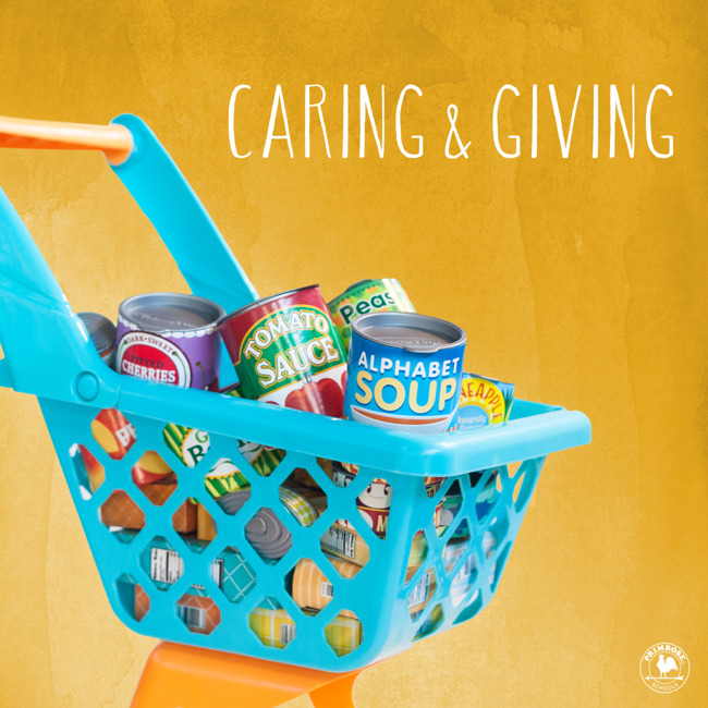 Caring and Giving Canned Food Drive