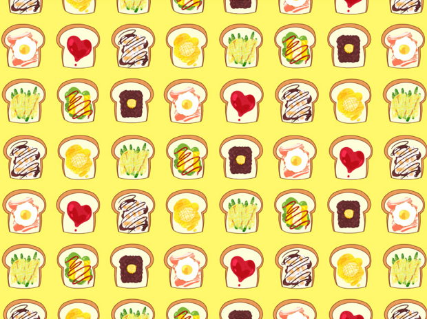 のっけもりトースト!