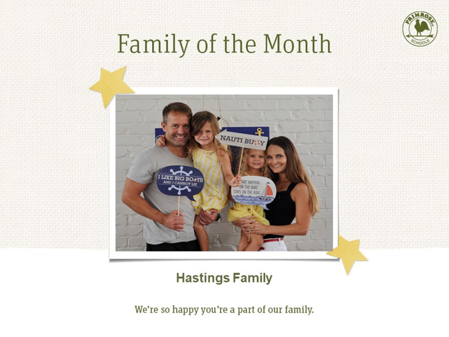 January Primrose Family of the Month