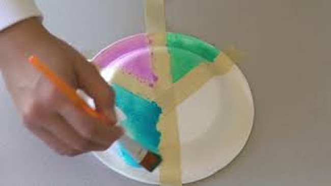 image of peace sign craft