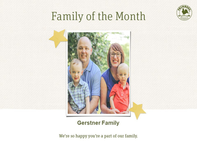 family of month - october