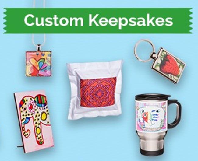 Custom keepsakes picture