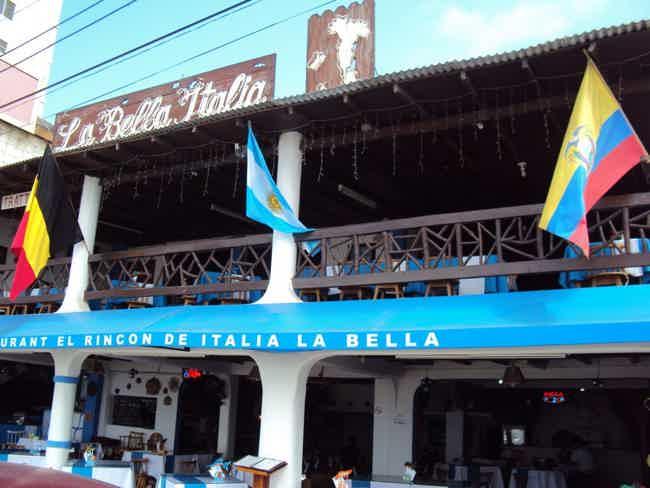 Restaurant Italia La bella-Salinas