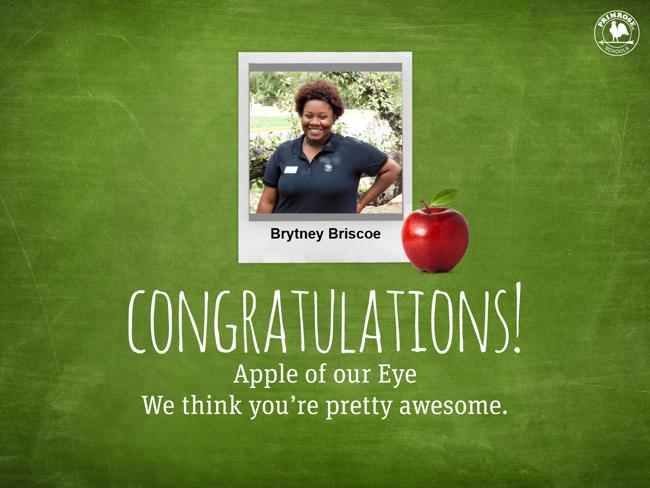 Brytney Briscoe Apple of our Eye
