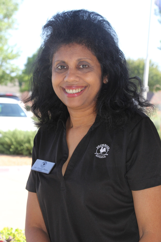 This image is a photo of our OT teacher Ms. Cece